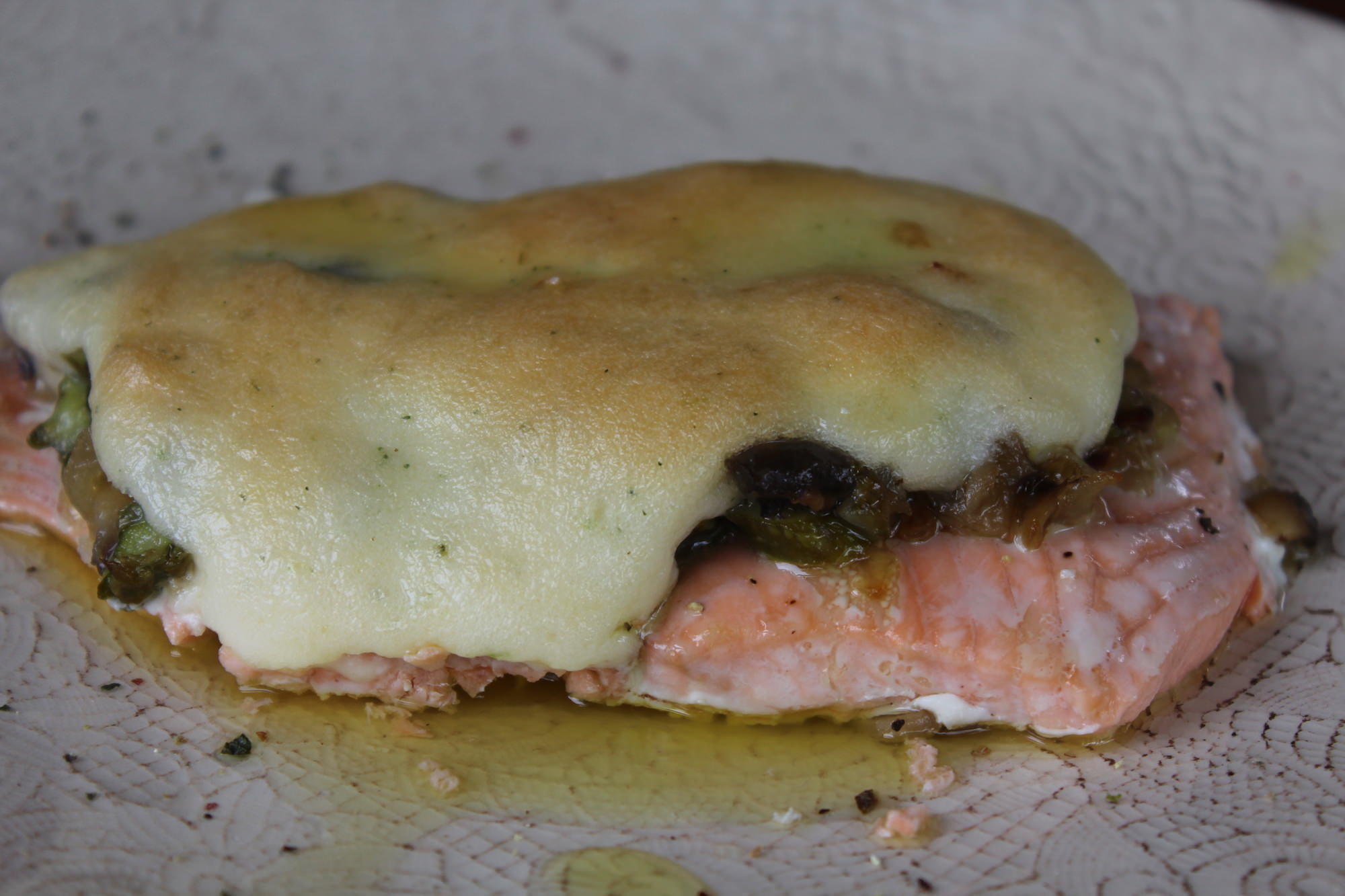 Recetas de pescado archivos p gina 2 de 5 cena con duende - Salmon con champinones ...