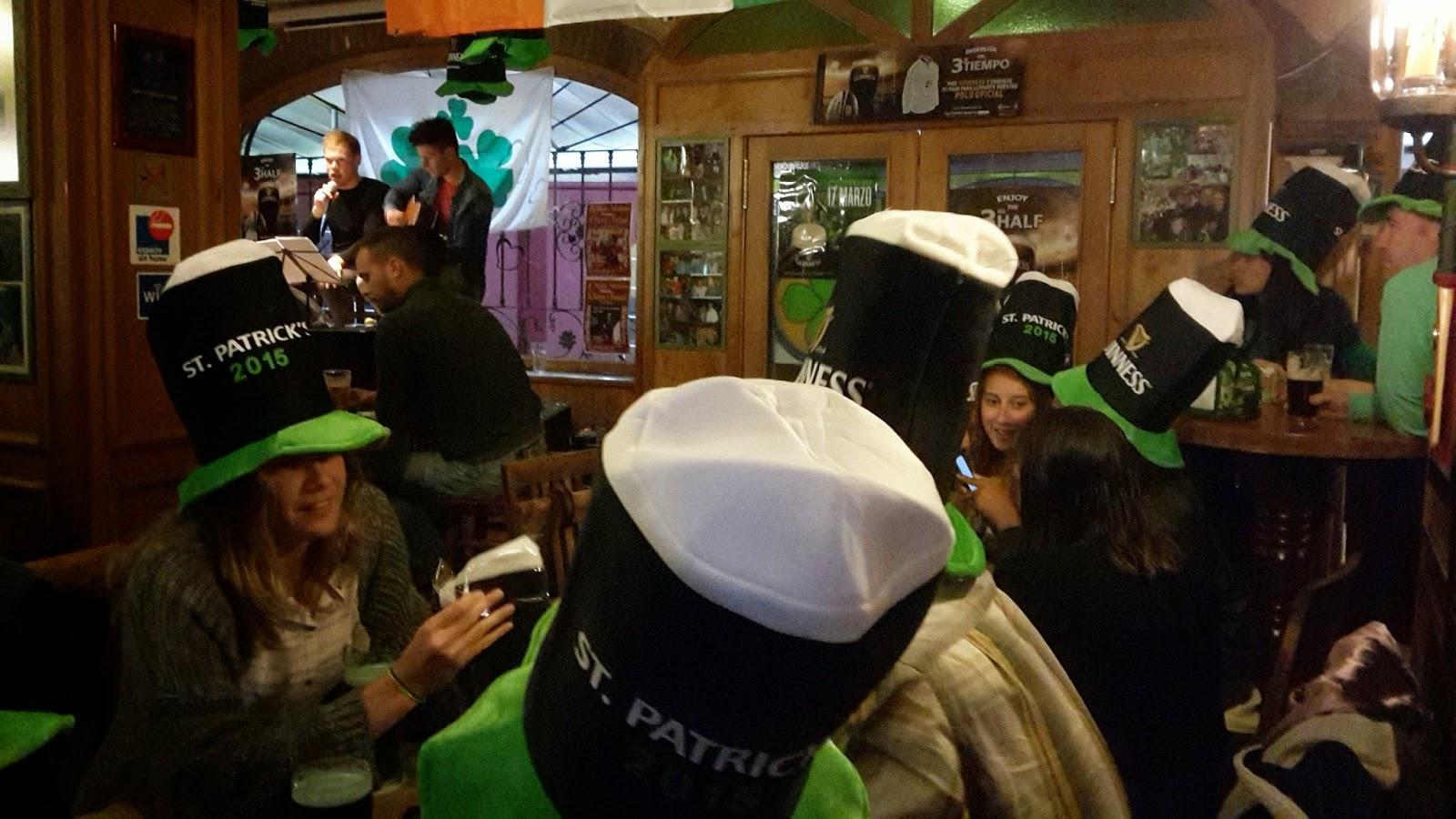 Celebración St. Patrick's 2015