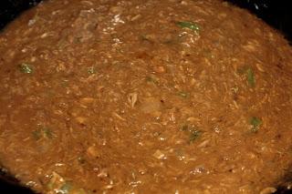 arroz con sopa de bogavante