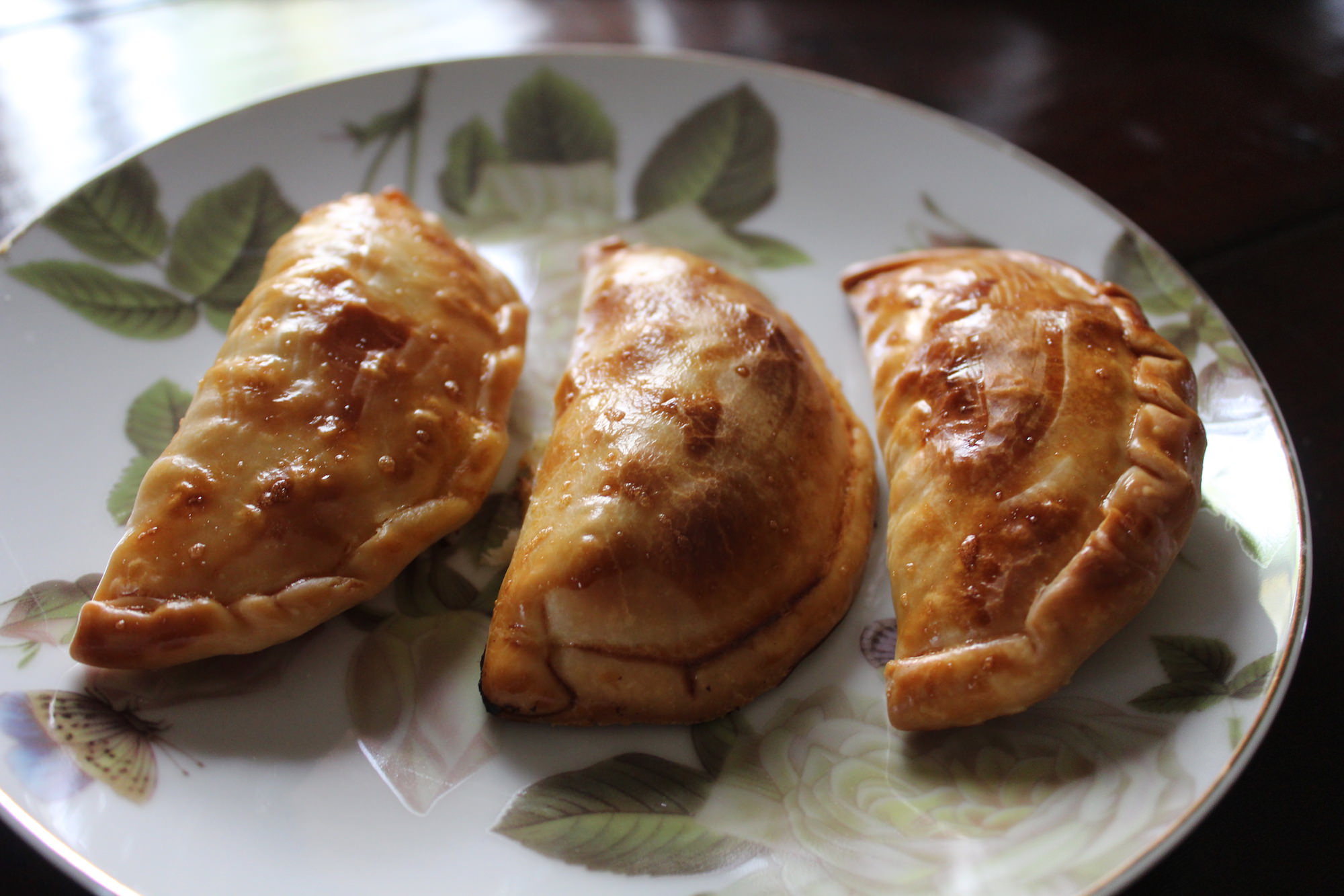 empanadillas de bacalao