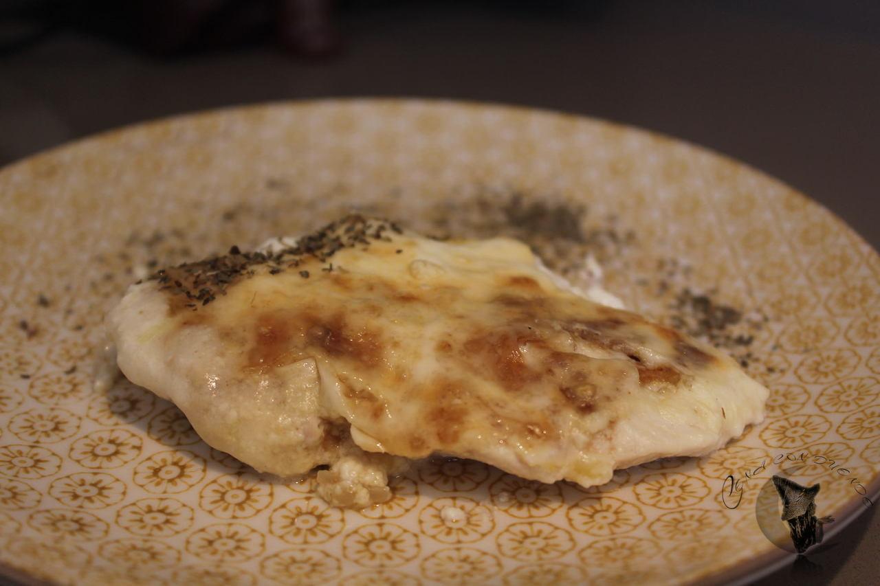 Pechugas de pollo con nata y cebollla, el Duende a diario.