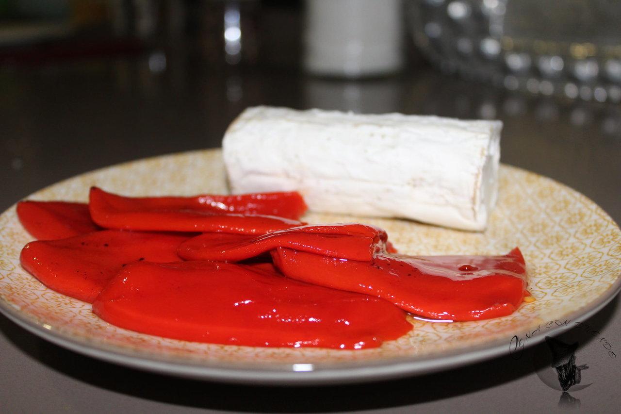 pimiento del piquillo relleno de solomillo y queso