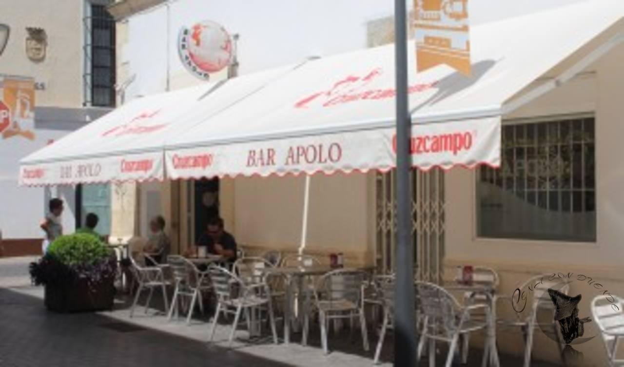 Bar Apolo, en El Puerto de Santa María.