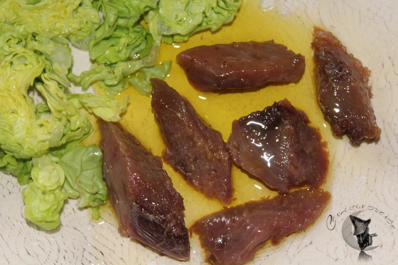 Listado marinado en aceite de oliva
