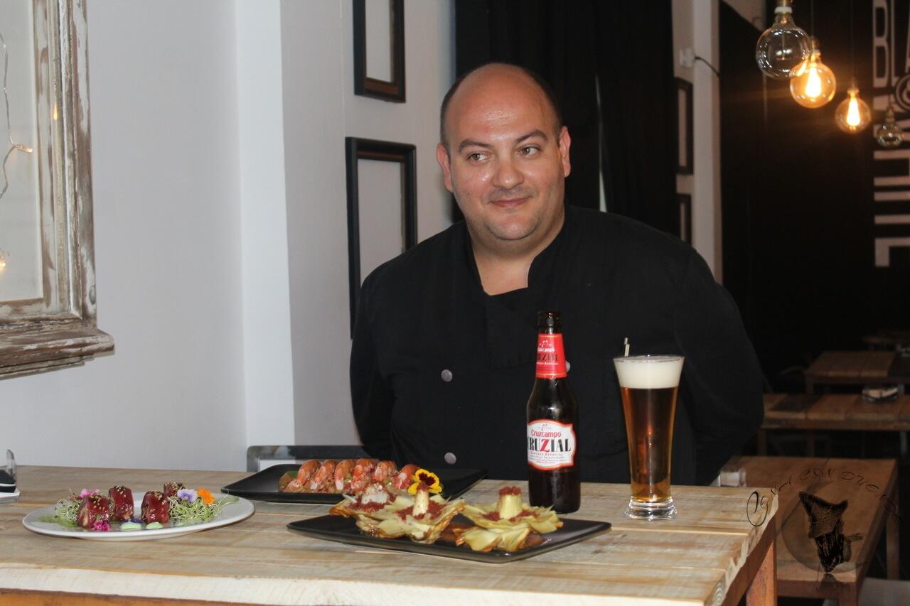 Cruzcampo Cruzial a través del Chef Mario Ruiz Botella