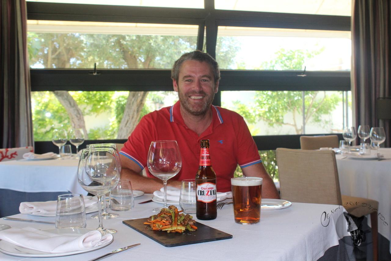 Maridaje con Cruzcampo Cruzial de la mano del Chef Yayo, en El Laul.